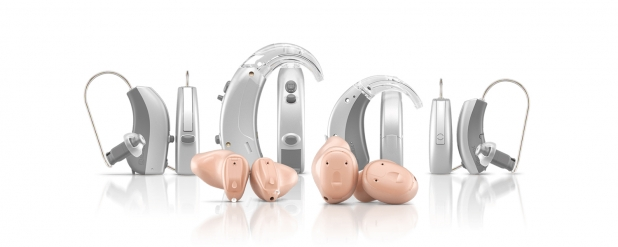 Vari tipi di protesi acustiche