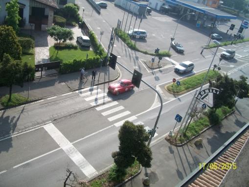passaggio auto d'epoca