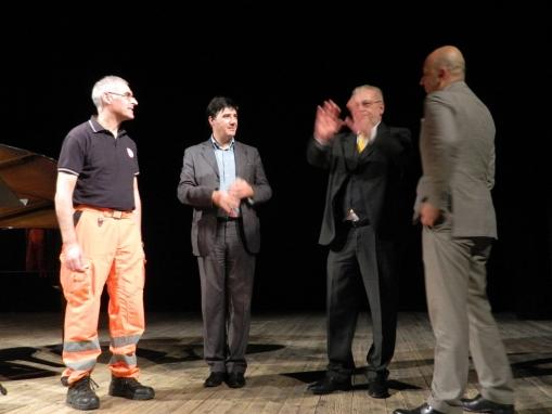 Teatro Rossi con il grande Cino Tortorella